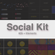 Social Kit - VideoHive Item for Sale