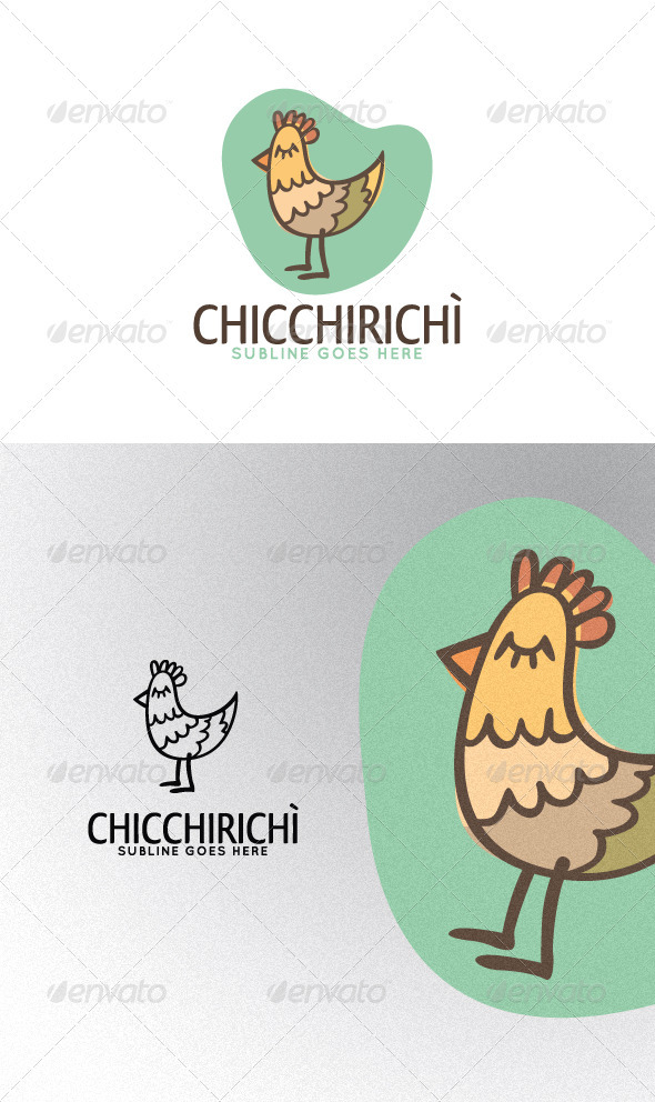 Cockerel - Animals Logo Templates