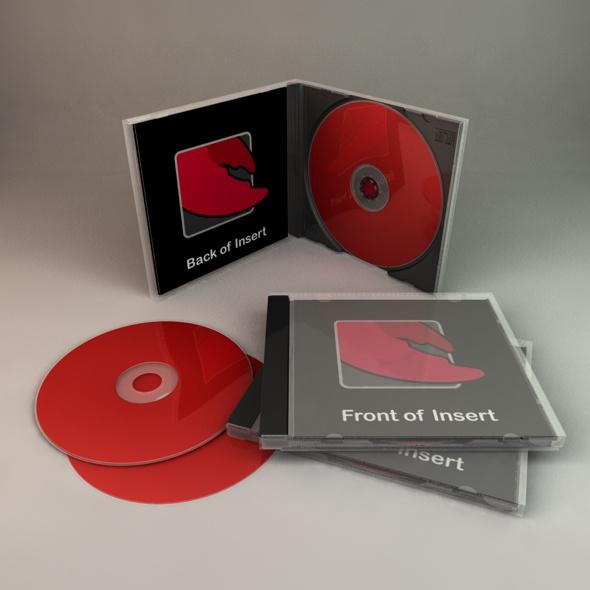 CD Case - 3DOcean Item for Sale