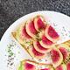 Toast with radish - PhotoDune Item for Sale