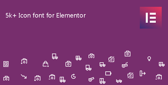 Icon Element - Elementor Page Builder Icon Pack