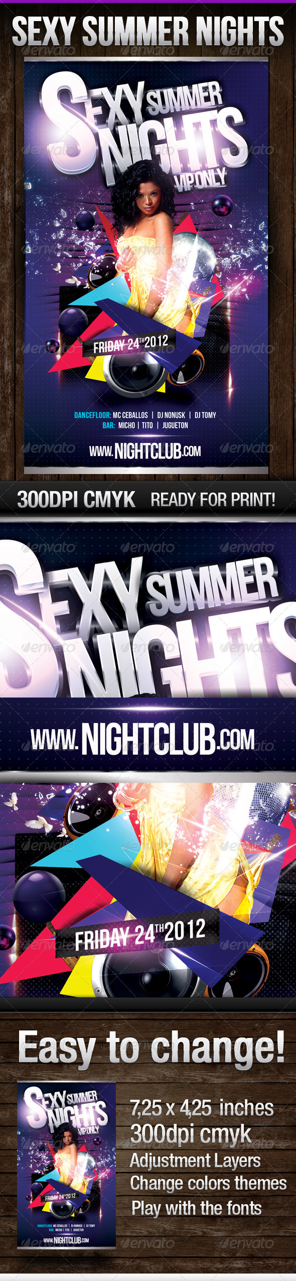 Sexy Summer Nights V.2 - Clubs & Parties Events