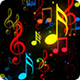 Music Note Symbols Background - VideoHive Item for Sale