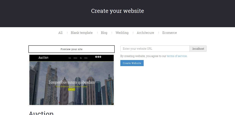 STSBuilder - Website Builder Service