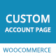 WooCommerce My Account Page Plugin, Customize Customer Account Page