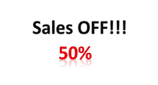 Sales off !!!