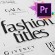 Just Type | Fashion Titles For Premiere Pro MOGRT - VideoHive Item for Sale