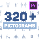 Pictogram Icons | MOGRT for Premiere - VideoHive Item for Sale