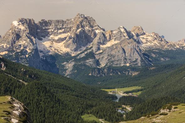 Italy Dolomites - Stock Photo - Images
