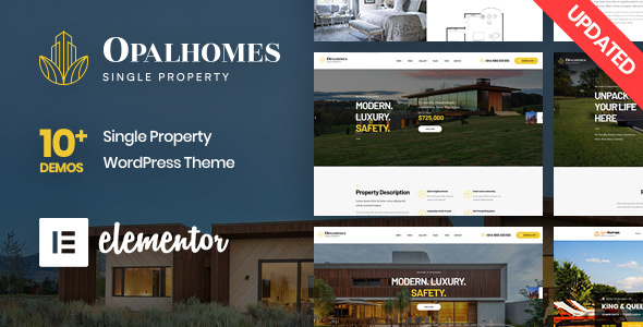 Top 5+ Single Property WordPress Themes