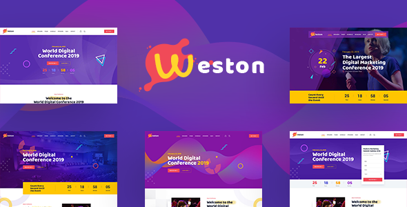 Weston - Conference & Event HTML Template