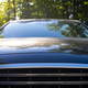 Front view of a modern car hood and radiator grill - PhotoDune Item for Sale