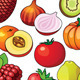 Alphabetic fruits set - GraphicRiver Item for Sale
