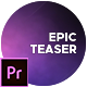 Epic Teaser - VideoHive Item for Sale