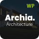Archia - Architecture & Interior WordPress Theme