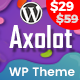 Axolot - Landing Page WordPress Theme