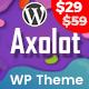 Axolot - Landing Page WordPress Theme