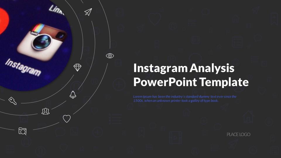 Instagram Analytics Powerpoint Presentation Template By Sananik Graphicriver