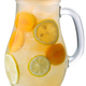 Iced apricot lemonade pitcher isolated, paths - PhotoDune Item for Sale