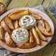 Baked Camembert cheese with potato - PhotoDune Item for Sale