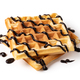 viennese waffles with chocolate syrup - PhotoDune Item for Sale