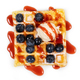 viennese waffles with strawberry - PhotoDune Item for Sale