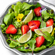 Bowl of salad with strawberry - PhotoDune Item for Sale