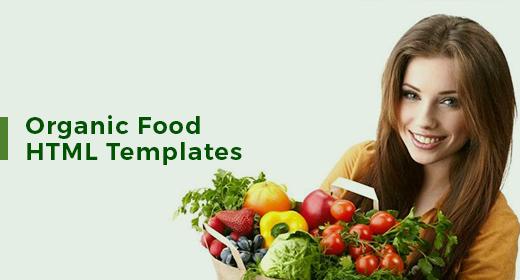 Organic Food HTML Templates