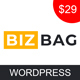 Bizbag - Multipurpose Business Startup WordPress Theme