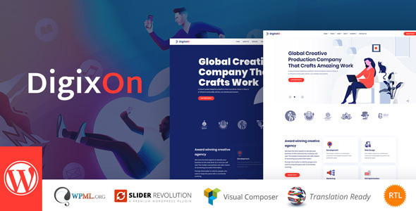 Digixon - Digital Marketing Strategy WP Theme