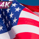US Flag Against The Sky - VideoHive Item for Sale