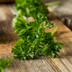 Raw Green Organic Curly Parsley - PhotoDune Item for Sale