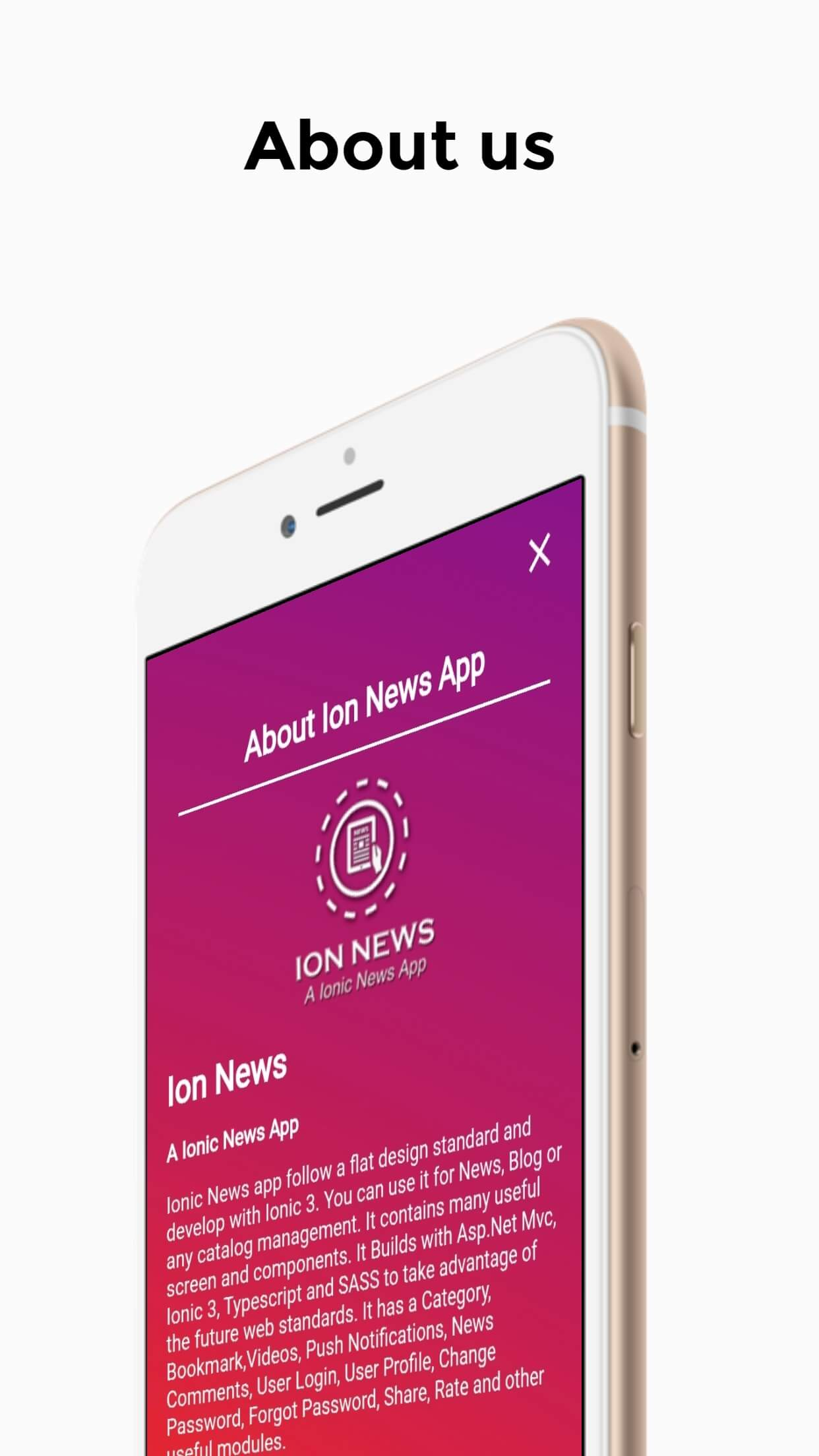 Ion News - A Ionic News App With Asp Net Mvc Web API