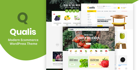 Download Qualis – Organic Food Responsive eCommerce WordPress Theme Free Nulled
