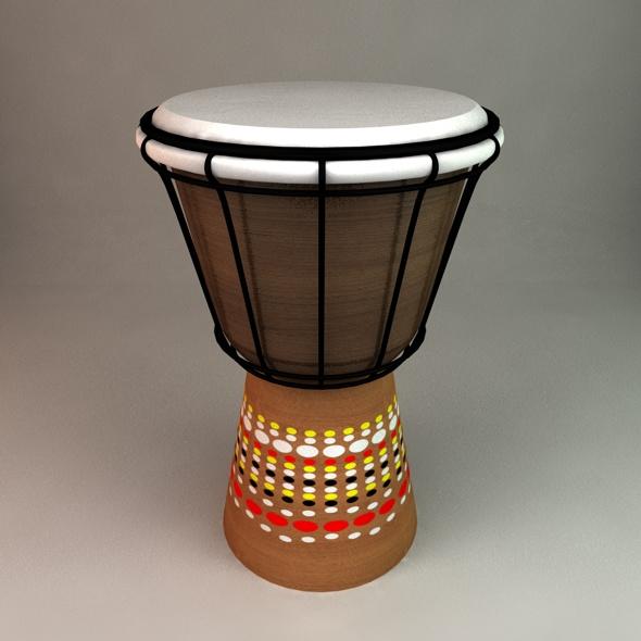 Bongo Drum - 3DOcean Item for Sale