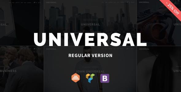 Universal - Corporate WordPress Multi-Concept Theme by DankovThemes