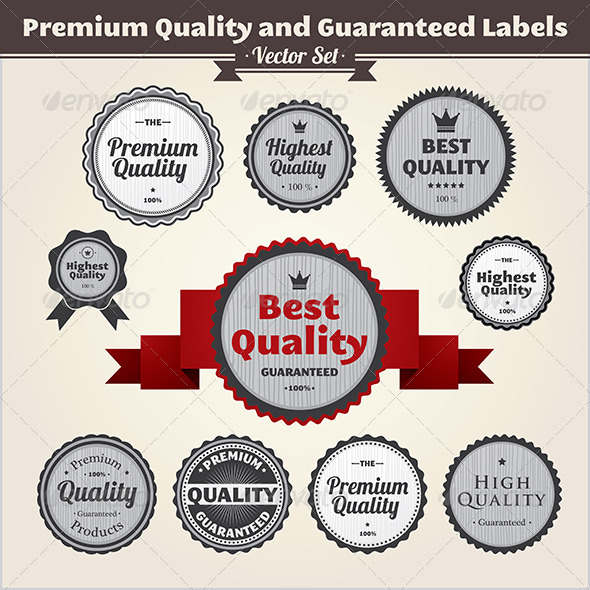 Premium Quality And Guaranteed Labels - Patterns Decorative