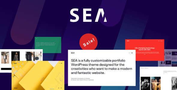 SEA | Creative Multi-Purpose WordPress Theme