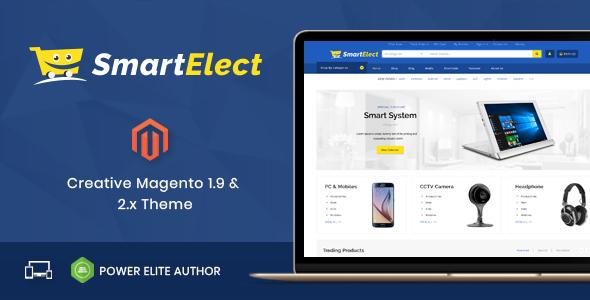 SmartElect - Responsive Magento 1 & 2 Theme