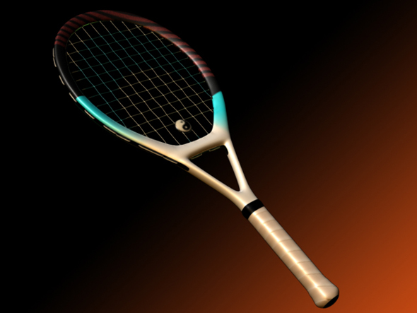 Racquet - 3DOcean Item for Sale