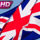 British Flag And Blue Sky - VideoHive Item for Sale