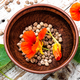 Seeds, and flowers of nasturtium - PhotoDune Item for Sale