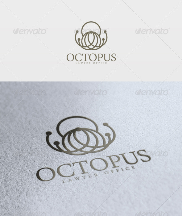 Octopus Logo - Animals Logo Templates