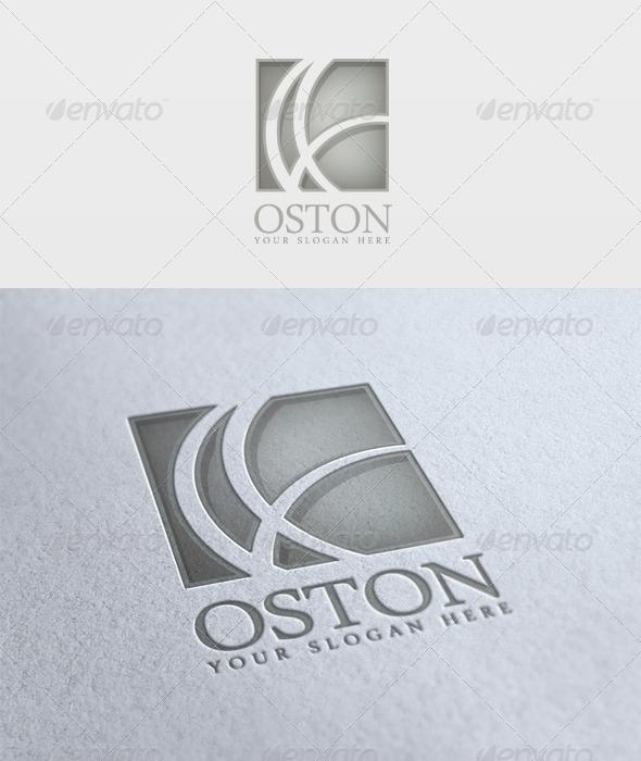 Oston Logo - Vector Abstract