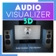 Audio Visualizer 3D Music Room - VideoHive Item for Sale