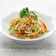 Tofu noodle salad chilled and dressed with sauce, chinese vegan cuisine - PhotoDune Item for Sale