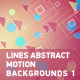 Lines Abstract Motion Backgrounds 1 - VideoHive Item for Sale