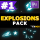 Cartoon Explosion Elements | Premiere Pro MOGRT - VideoHive Item for Sale