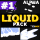Liquid Shape Elements | Motion Graphics Pack - VideoHive Item for Sale