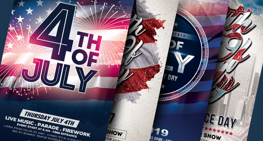 4th of July - Independence Day Flyer